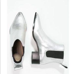 Loeffler Randall Metallic Chelsea Boots